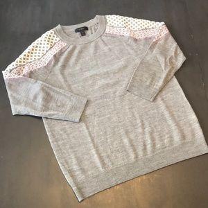 J. Crew crewneck sweater. Small, grey.